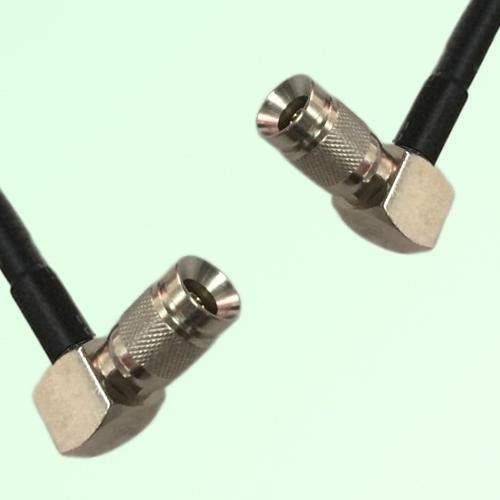 75ohm 1.0/2.3 DIN Male R/A to 1.0/2.3 DIN Male R/A Coax Cable Assembly