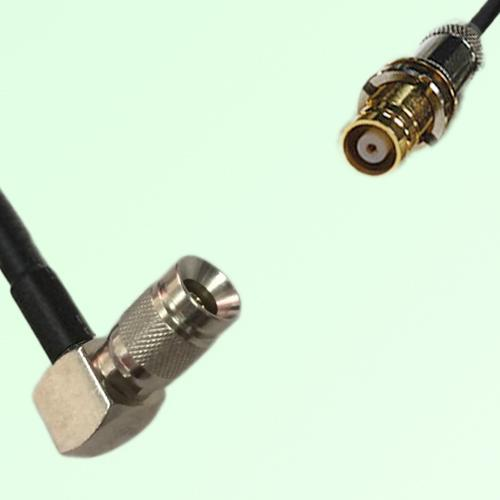 75ohm 1.0/2.3 DIN Male R/A to 1.6/5.6 DIN Female Coax Cable Assembly