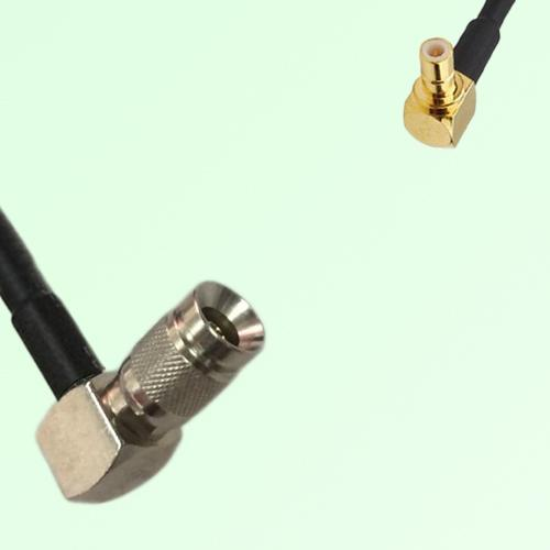 75ohm 1.0/2.3 DIN Male R/A to SMB Male R/A Coax Cable Assembly