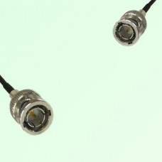 75ohm BNC Male to Mini BNC Male Coax Cable Assembly
