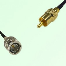 75ohm BNC Male to RCA Male Coax Cable Assembly