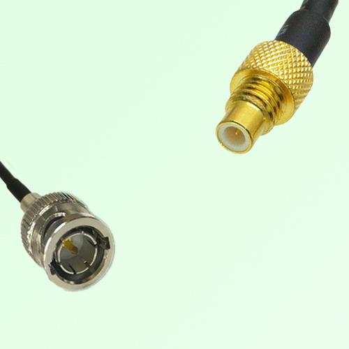 75ohm BNC Male to SMC Male Coax Cable Assembly