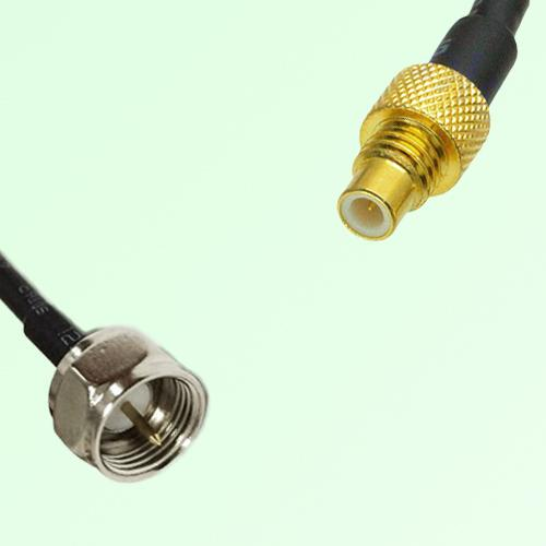75ohm F Male to SMC Male Coax Cable Assembly