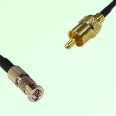 75ohm HD-BNC Male to RCA Male Coax Cable Assembly