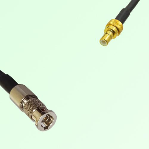 75ohm HD-BNC Male to SMB Male Coax Cable Assembly