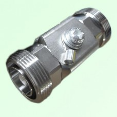 Surge Arrestor 1/4 Wavelength 7/16 DIN Female to Female 800-2500MHz