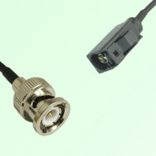 FAKRA SMB A 9005 black Female Jack to BNC Male Plug Cable