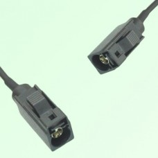 FAKRA SMB A 9005 black Female Jack to A 9005 black Female Jack Cable