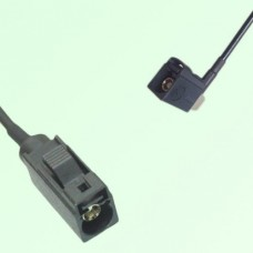 FAKRA SMB A 9005 black Female Jack to A 9005 black Female RA Cable