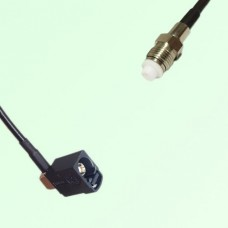 FAKRA SMB A 9005 black Female Jack RA to FME Female Jack Cable