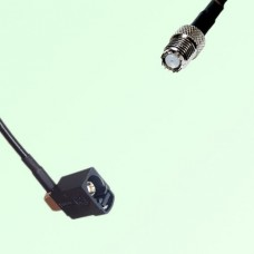FAKRA SMB A 9005 black Female Jack RA to Mini UHF Female Jack Cable