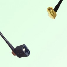 FAKRA SMB A 9005 black Female Jack RA to SMB Female Jack RA Cable