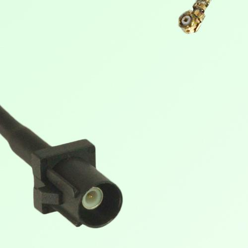 FAKRA SMB A 9005 black Male Plug to IPEX Cable