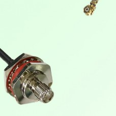 SMA Bulkhead Female M16 1.0mm thread to IPEX RF Cable Assembly