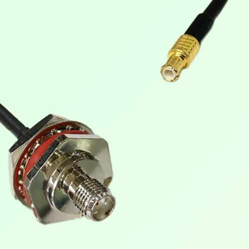 SMA Bulkhead Female M16 1.0mm thread to MCX Male RF Cable Assembly