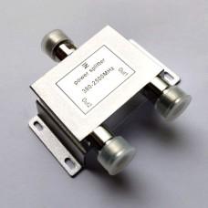 2 Way N Female Jack RF Power Splitter/Divider 380-2500MHz