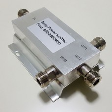 3 Way N Female Jack RF Power Splitter/Divider 800-2500MHz
