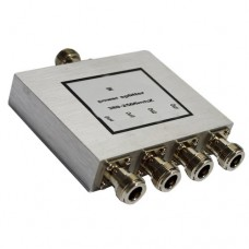 4 Way N Female Jack RF Power Splitter/Divider 800-2500MHz