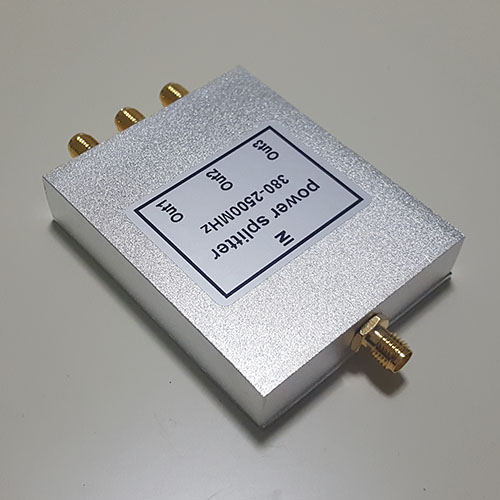 3 Way SMA Female Jack RF Power Splitter/Divider 380-2500MHz