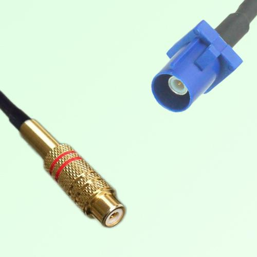 RCA Female to FAKRA SMB C Male RF Cable Assembly