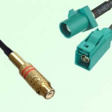 RCA Female to FAKRA SMB Z Type Male and Female Y Type Cable Assembly