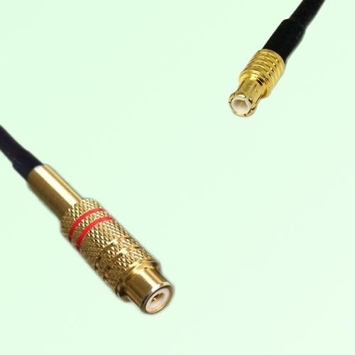 RCA Female to MCX Male RF Cable Assembly