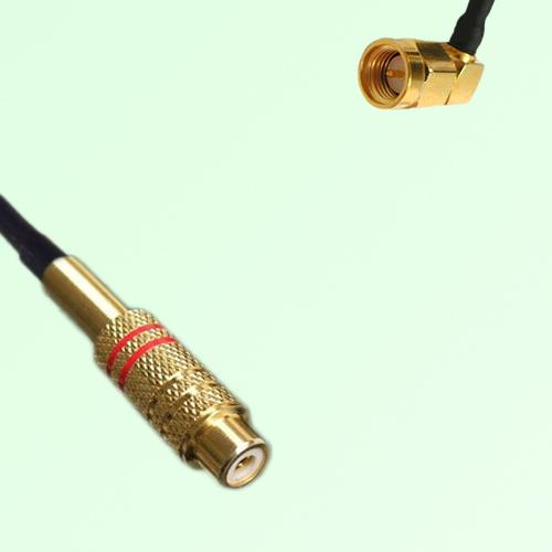 RCA Female to SMA Male Right Angle RF Cable Assembly