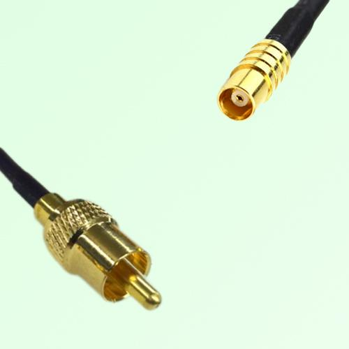 RCA Male to MCX Female RF Cable Assembly