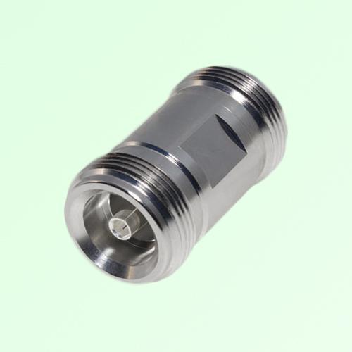 Low PIM Adapter 4.1/9.5 Mini DIN Female to 4.1/9.5 Mini DIN Female
