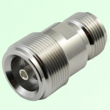 Low PIM Adapter 4.1/9.5 Mini DIN Female Jack to N Female Jack