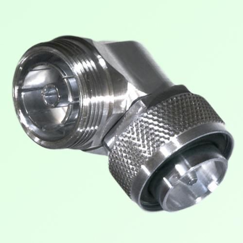 Low PIM Adapter Right Angle 7/16 DIN Female to 7/16 DIN Male