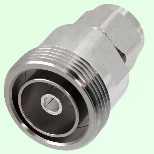 Low PIM Adapter 7/16 DIN Female Jack to N Male Plug