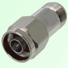 Low PIM Adapter N Female Jack to N Male Plug