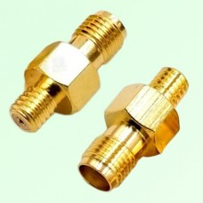 RF Adapter 10-32 M5 Female Jack to SMA Female Jack