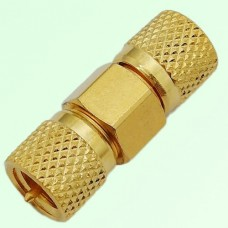 RF Adapter 10-32 M5 Male Plug to 10-32 M5 Male Plug