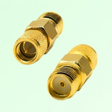 RF Adapter 10-32 M5 Male Plug to SMA Female Jack