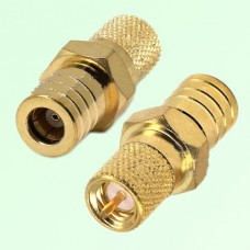 RF Adapter 10-32 M5 Male Plug to SMB Female Jack