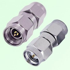 26.5G 3.5mm Male Plug to SMA Male Plug RF Adapter