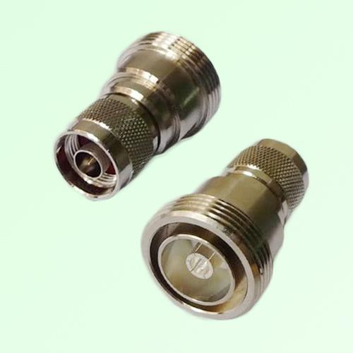 RF Adapter 7/16 DIN Female Jack to N Male Plug
