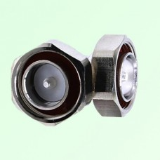 Right Angle 7/16 DIN Male Plug to 7/16 DIN Male Plug Adapter