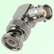 Right Angle BNC Female Jack to BNC Male Plug Adapter
