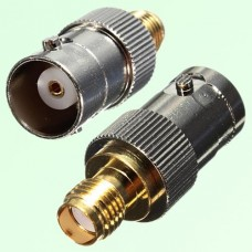 RF Adapter BNC Female Jack to SMA Female Jack