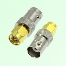 RF Adapter BNC Female Jack to SMA Male Plug