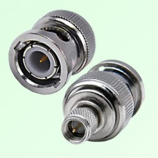 RF Adapter BNC Male Plug to 10-32 M5 Male Plug