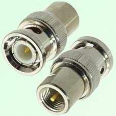 RF Adapter BNC Male Plug to FME Male Plug