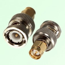 RF Adapter BNC Male Plug to SMA Male Plug