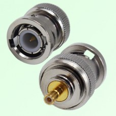 RF Adapter BNC Male Plug to SSMB Male Plug