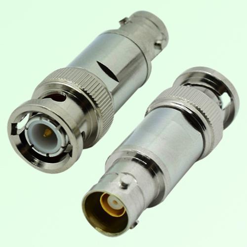 RF Adapter BNC Male Plug to TRB 3 Lugs Female Jack