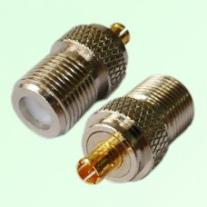RF Adapter F Female Jack to MCX Male Plug