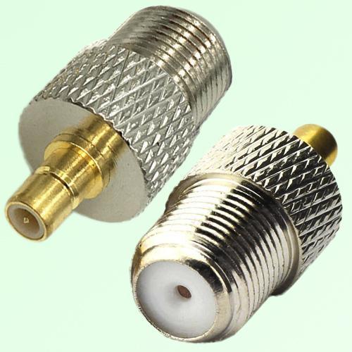 RF Adapter F Female Jack to SMB Male Plug